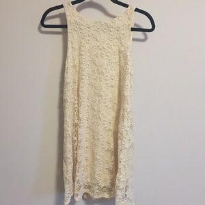 Ginger G Cream Colored Dress